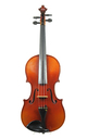 Fine violin from Saxony - top view