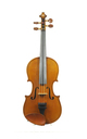 French 1/2 sized violin, Mirecourt approx. 1940 - top view