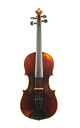 Czech violin after Guarneri approx. 1920 - top view