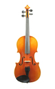 German 3/4 master violin, after Stradivari - top view