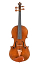 Student violin after Guarneri - top
