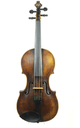 Historic 18th century violin - top