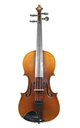 Good quality 1920's Schuster & Co violin, Markneukirchen - top