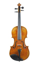 Modern violin from Eastern Europe - top