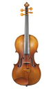 Old French Violin after Gioffredo Cappa, approx. 1920 - top