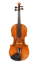 Good sounding old Bohemian violin, student violin - top