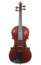 Powerful Markneukirchen violin, Schuster & Co., after Jacobus Stainer - top