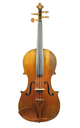 19th century: Antique German violin from Saxony, c.1850