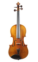 Saxon violin with Italian character - top